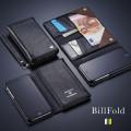 まさにiPhoneだけでOK!カードだけでなくお札も入るiPhone6s/6sPlusケース「3つ折りノート手帳型ケース BillFold」