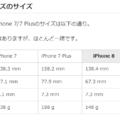 iPhone8にはiPhone7向けのケースが使えるという根拠(iPhone8PlusとiPhone7Plusも)
