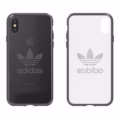 アディダスのロゴがシンプルにデザインされたiPhoneXケース(アディダス公式ケース)