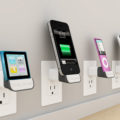 iPhone5の充電がケーブルがなくても可能なモバイルバッテリー